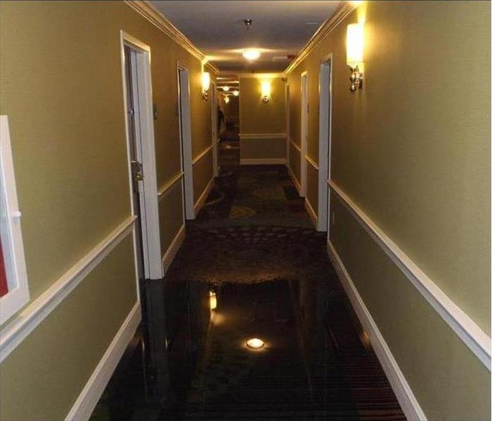 Water Damage – Teaneck Hotel Before