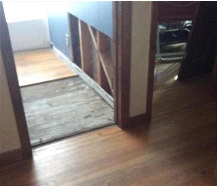 Englewood Office Suffers Damaged Flooring from a Storm After