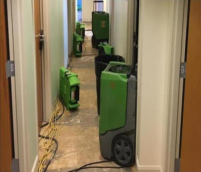 Commercial Water Damage Restoration In Englewood Before