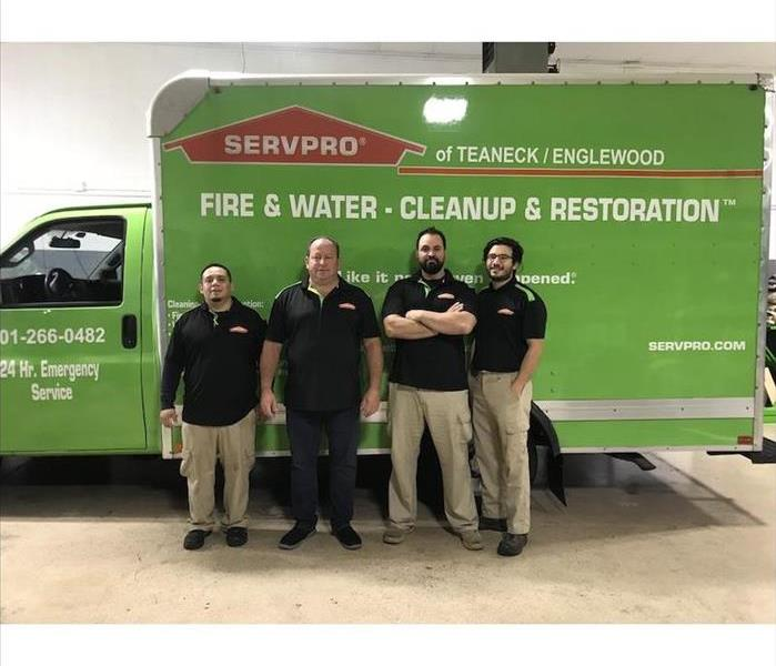 SERVPRO team ready for action.
